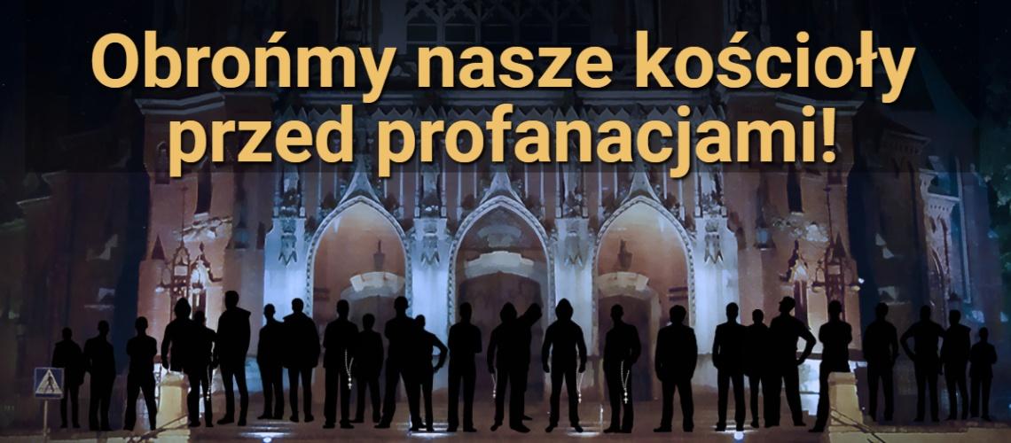 w obronie kościołów przed atakami proaborcyjnego lobby