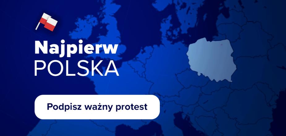 Apel Trybunał Konstytucyjny - Najpierw Polska